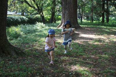 自然の中で外遊びしよう