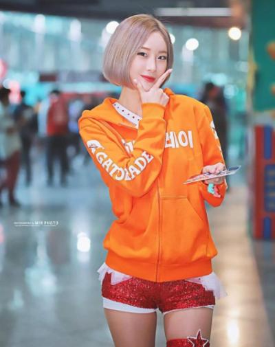 ソ・ヒョンスクとは?韓国金髪ショートのチア美女のインスタが可愛い!