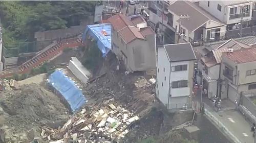 "<span class=""title"">大阪市西成区の住宅倒壊はどこ?原因は工事?保険で補償できる?</span>"