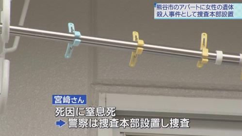 27歳女性変死事件の熊谷市のアパートはどこ?警察にストーカー相談?
